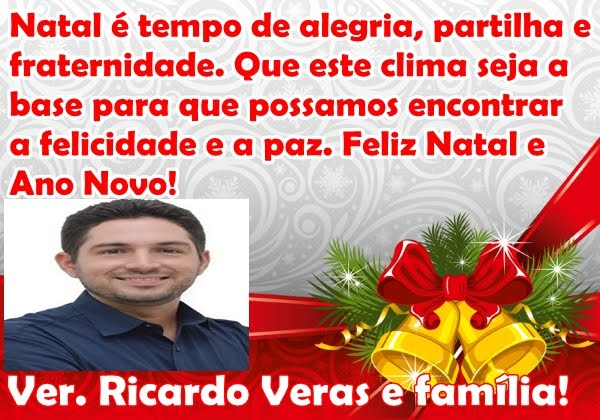 VEREADOR RICARDO VERAS E FAMÍLIA