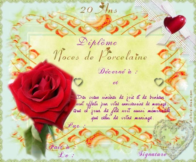 Carte Anniversaire De Mariage A Imprimer Gratuitement