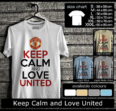 kaos distro keep calm and love united