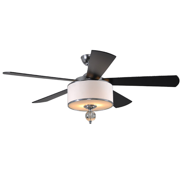 Crazy Wonderful: addressing the ceiling fan light