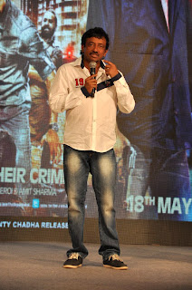 Ram gopal at  'Department' movie press meet