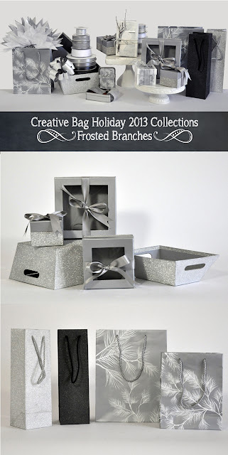 Creative Bag Holiday 2013 Frosted Branches Collection