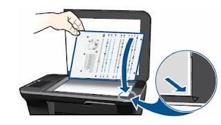 colocación pagina de prueba impresora HP