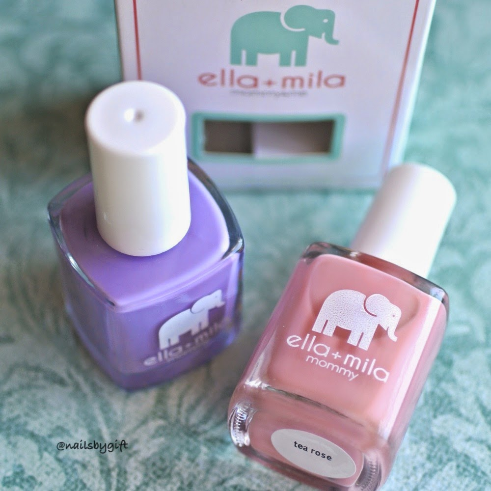 Nails by Gift: Ella + Mila Review