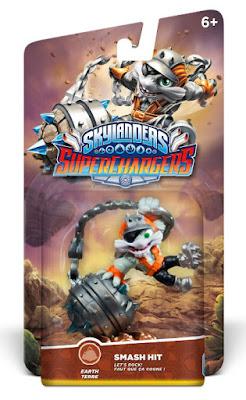 TOYS : JUGUETES - Skylanders SuperChargersSmash Hit   Figura - muñeco Producto Oficial   Videojuego   Activicion 2015   A partir de 6 años Comprar en Amazon España & buy Amazon USA