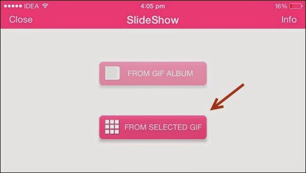 Create GIF Image Slideshow On IOS Make It Easy 4