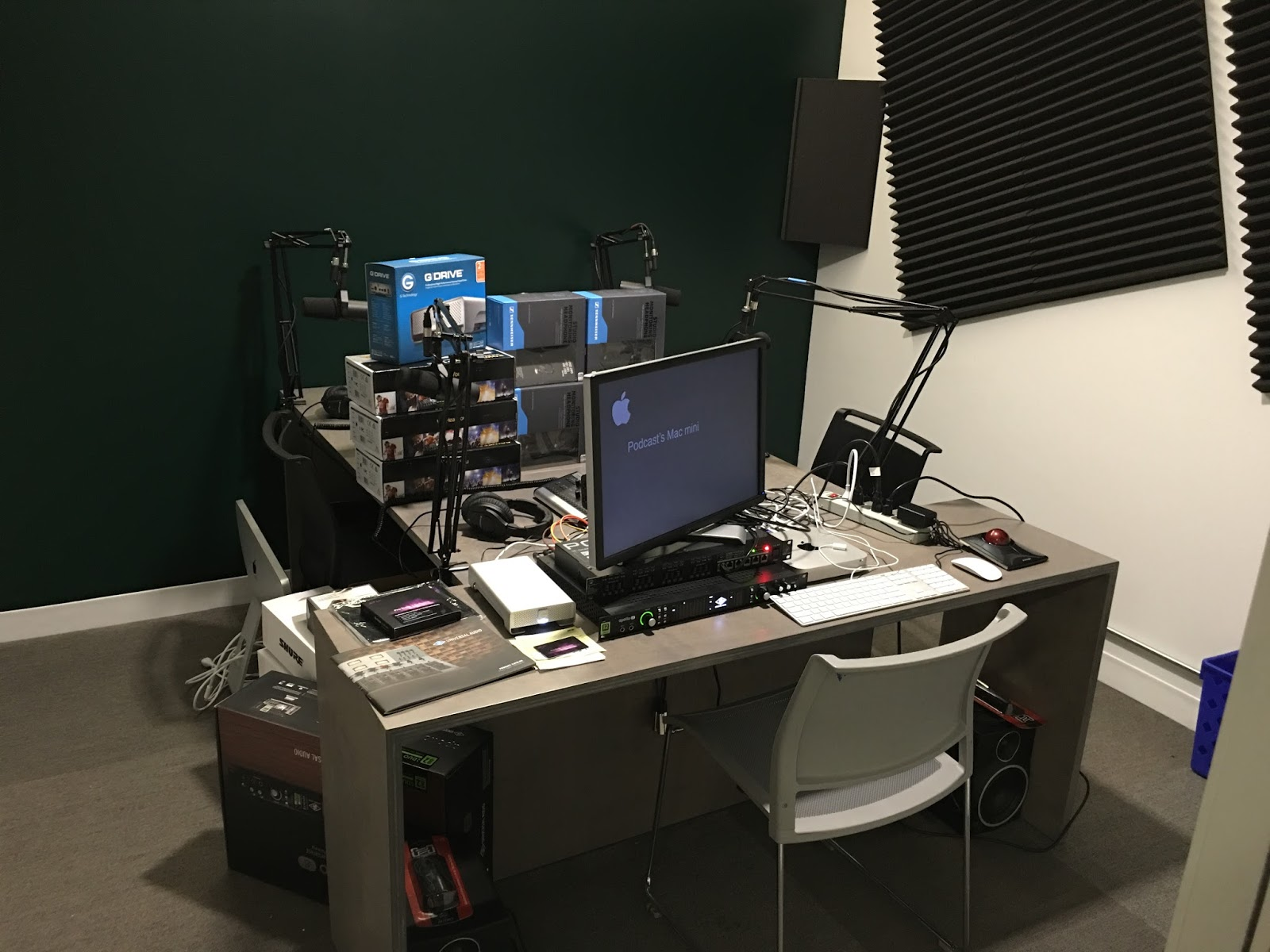hindsight new parkergale podcast studio at 1871 coming soon