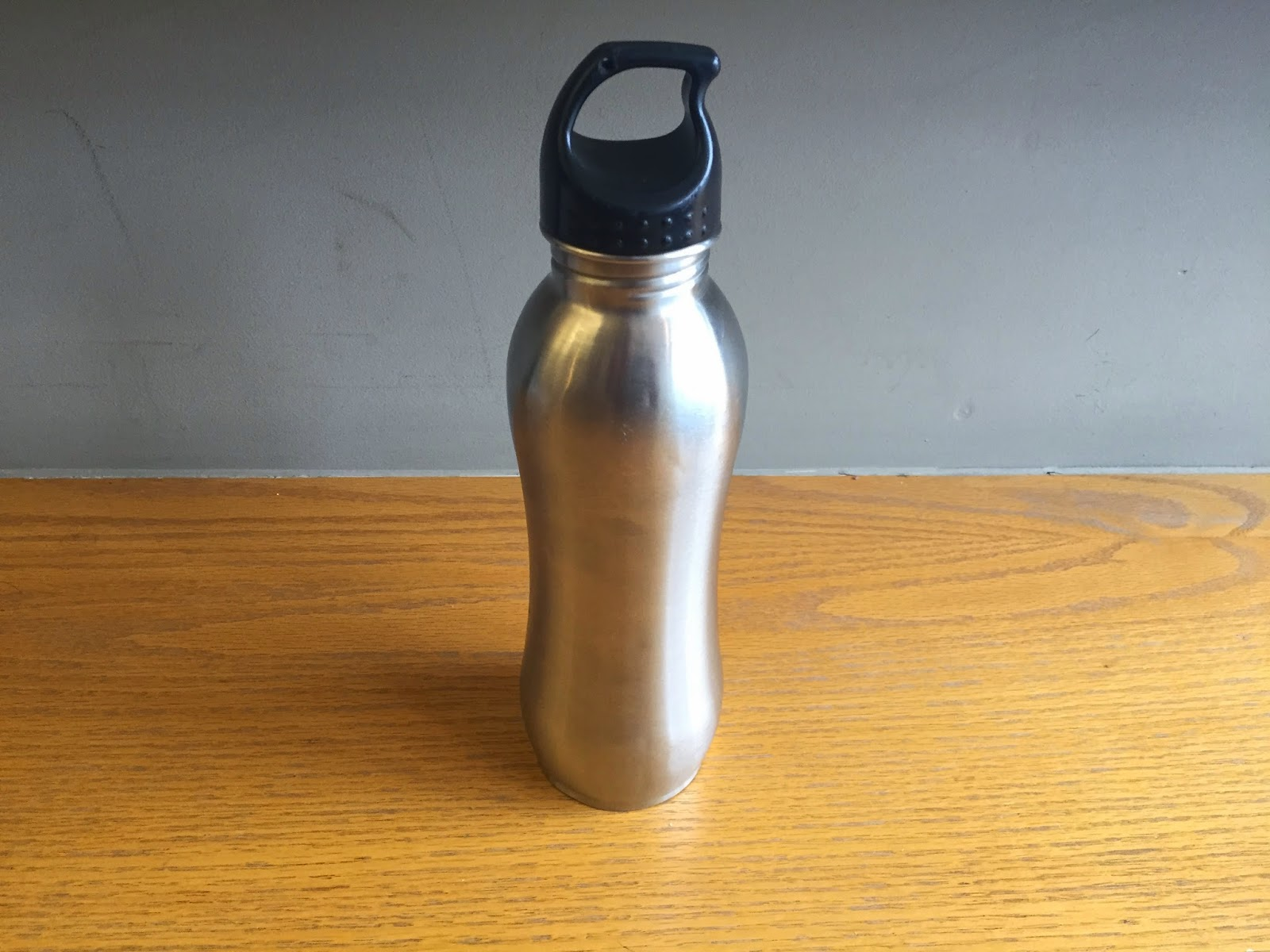 Stainless steel metal water bottle appliance recycling