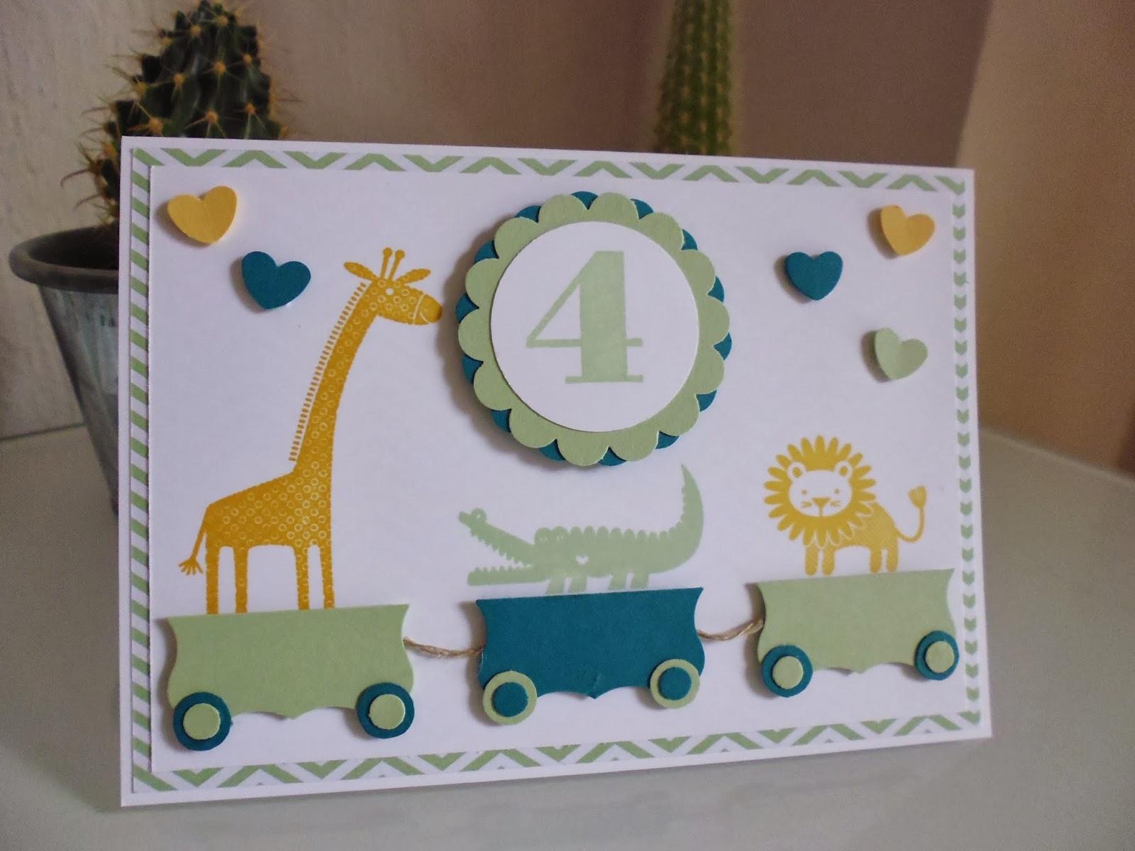 Zoo Babies, Zug, Kinderkarte