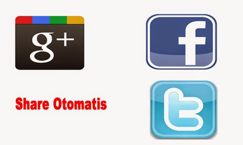 Cara Share Posting Artikel Otomatis ke Media Sosial