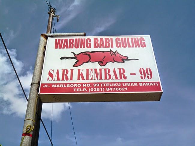 Warung babi guling