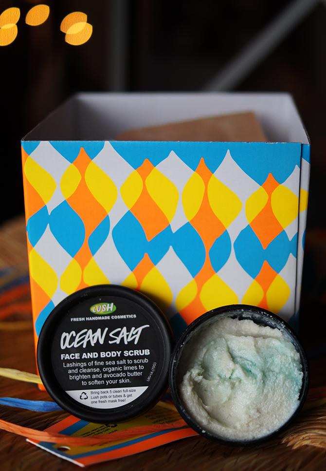 Ocean Salt scrub