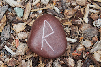 Norse Rune Raido: Wagon, Journey (R)