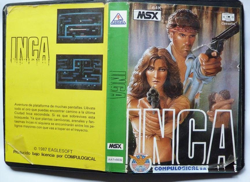 Recuerdos de 8 Bits: Inca (Eaglesoft, 1987)