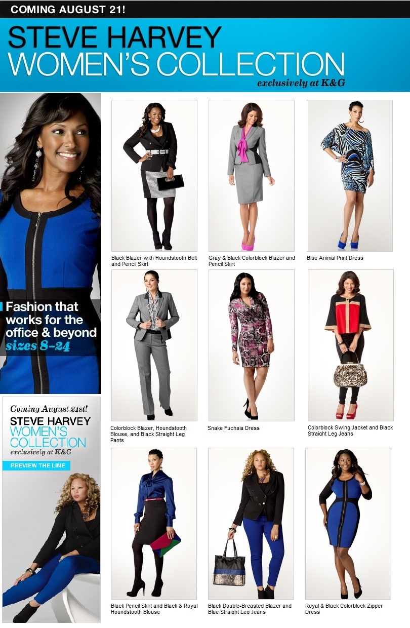 Steve harvey clothing for women