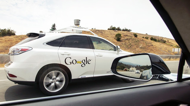 Google autonomous driving self car