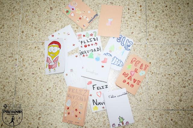 manualidades tarjetas navidad niños