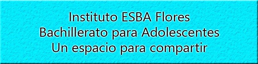 ESBA Flores - Bach. para Adolescentes