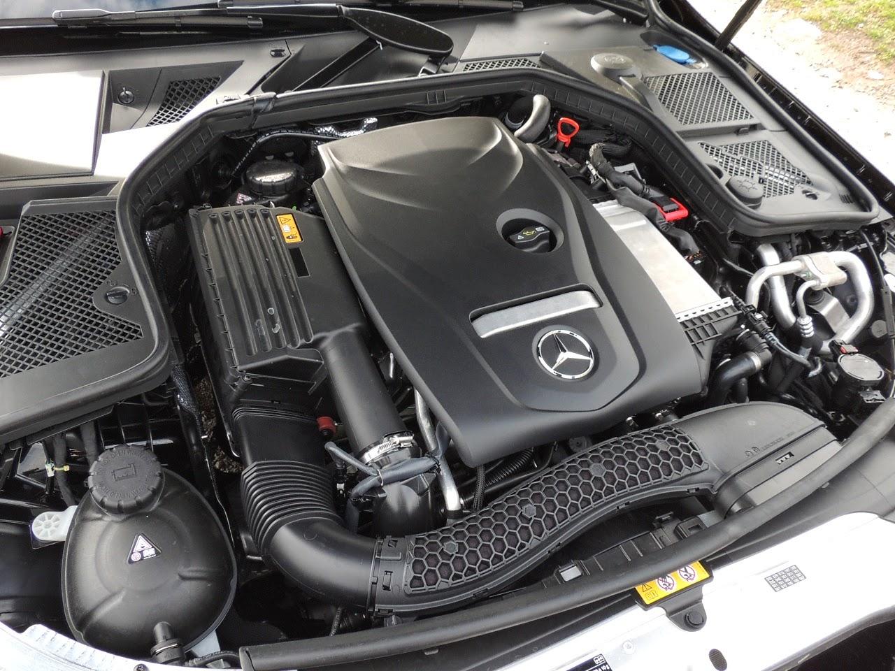 Mercedes Klasy C - silnik wersji 180 (1.6 turbo)