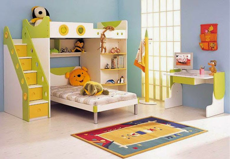 Kids Room Furniture Ideas For Two Kids