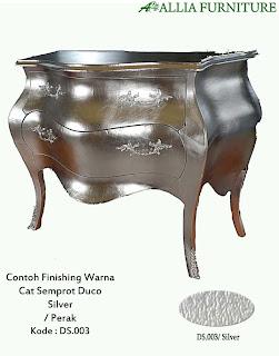 contoh gambar warna finising cat duco Perak