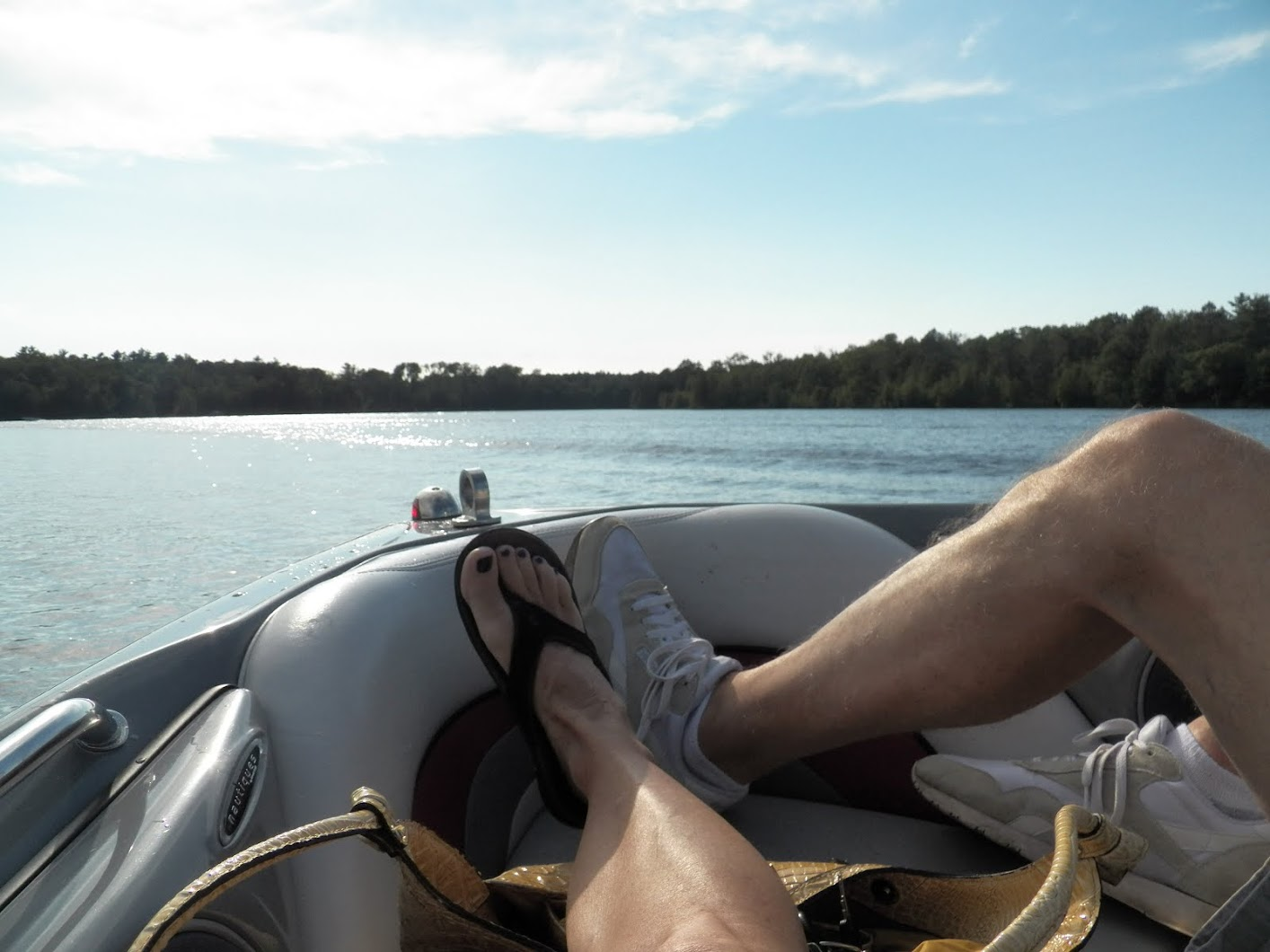 Boating on the Chippewa Flowage