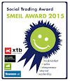 """FINANZBLOG Sieger 2015 """"Smeil Social Trading Award"""""""