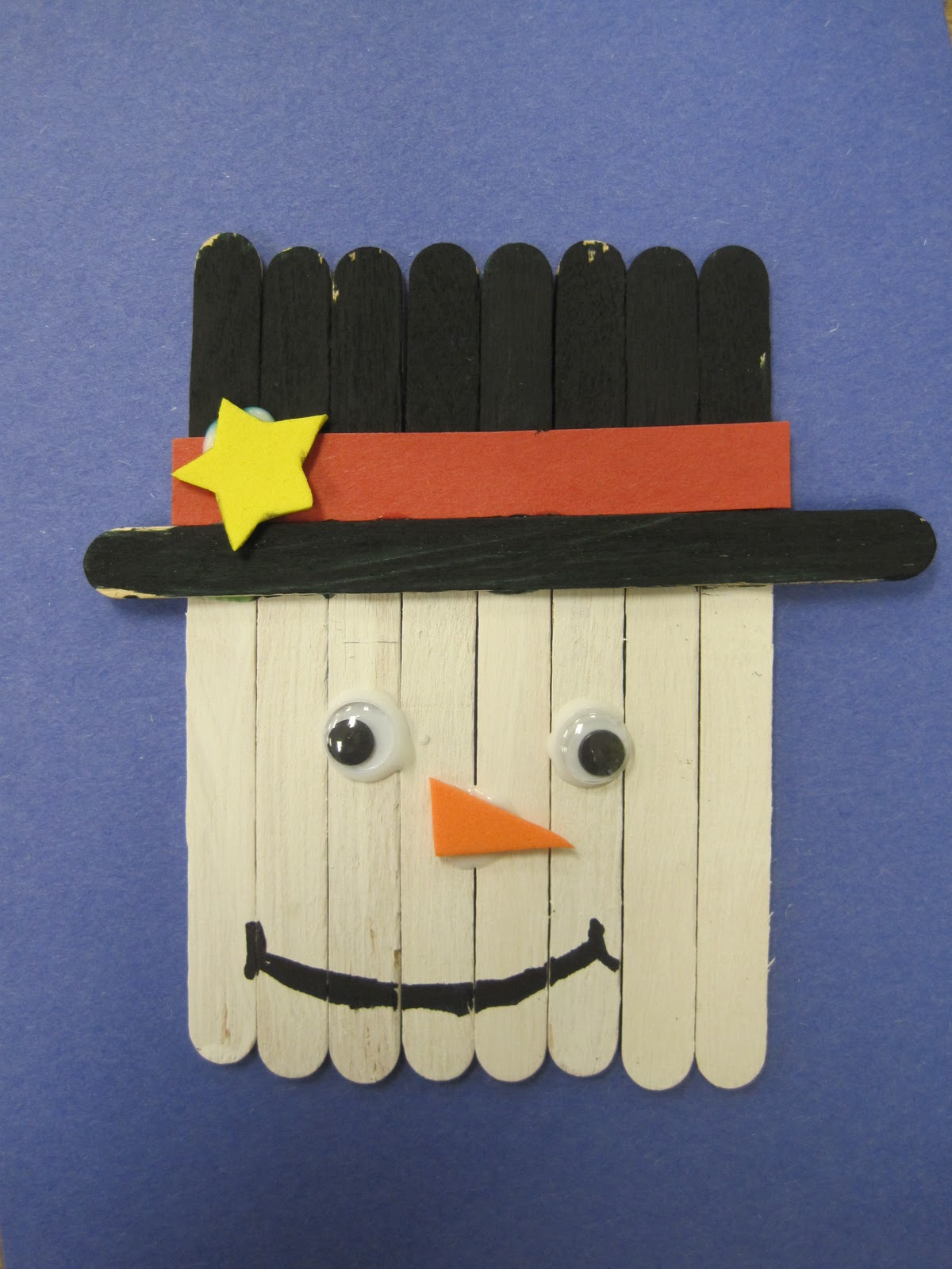 Savvy second graders quick christmas craft for Quick craft