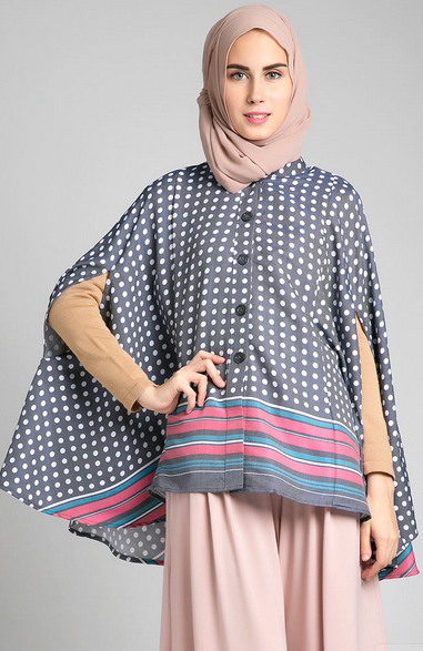 Model Baju Muslim Wanita Kain Kaftan Modern Terbaru 2015