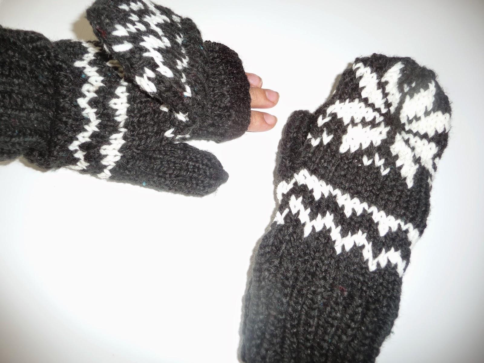 rękawiczki diy