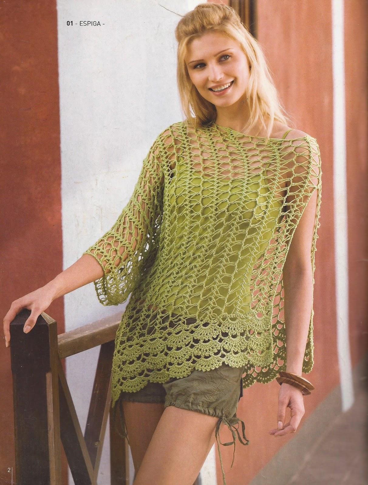 Crochet ganchillo patrones graficos chal tejido a tattoo - Patrones de ganchillo ...