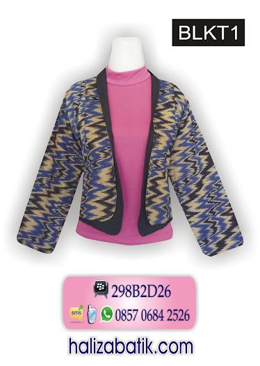 085706842526 INDOSAT, Baju Batik, Baju Batik Modern, Busana Batik, BLKT1, http://grosirbatik-pekalongan.com/Bolero-blkt1/