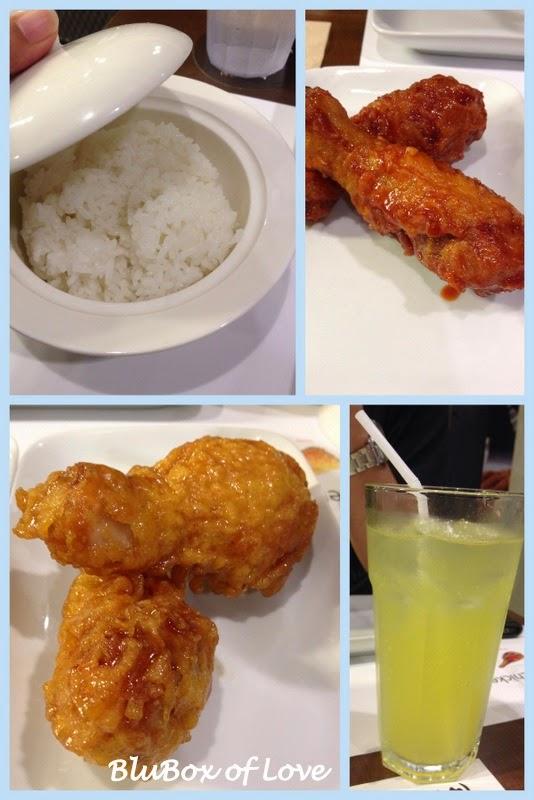 KyoChon Chicken Restaurant Menu