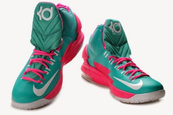 Nike Zoom Kevin Durants KD V Basketball Shoes MoonPink Good