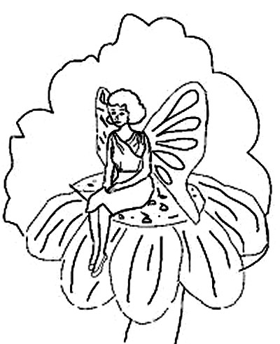 Fairy Coloring Pages on Disney Princess Fairy Coloring Pages To Kids