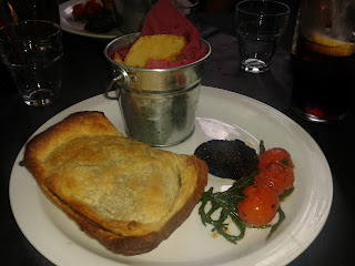 Steak Pie at the Jekyll and Hyde Pub