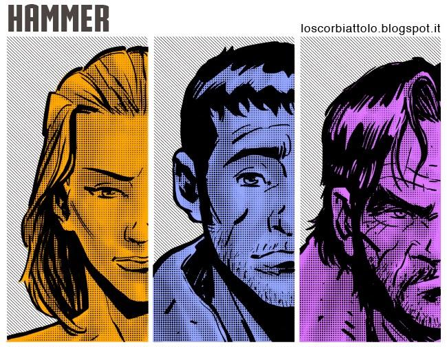 mondadori comics hammer recensione mirko treccani fanart fumetto tributo digital sketch