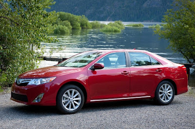 Toyota Camry Happy New Year 2012