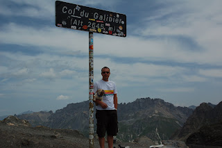 Me at the summit of the Col Du Galibier