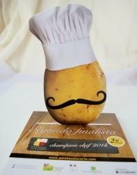 Segundo finalista del concurso Patatas a la Carta