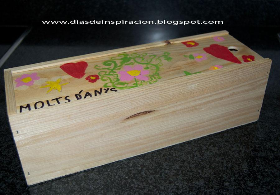 Como pintar caja de madera imagui - Manualidades cajas madera ...