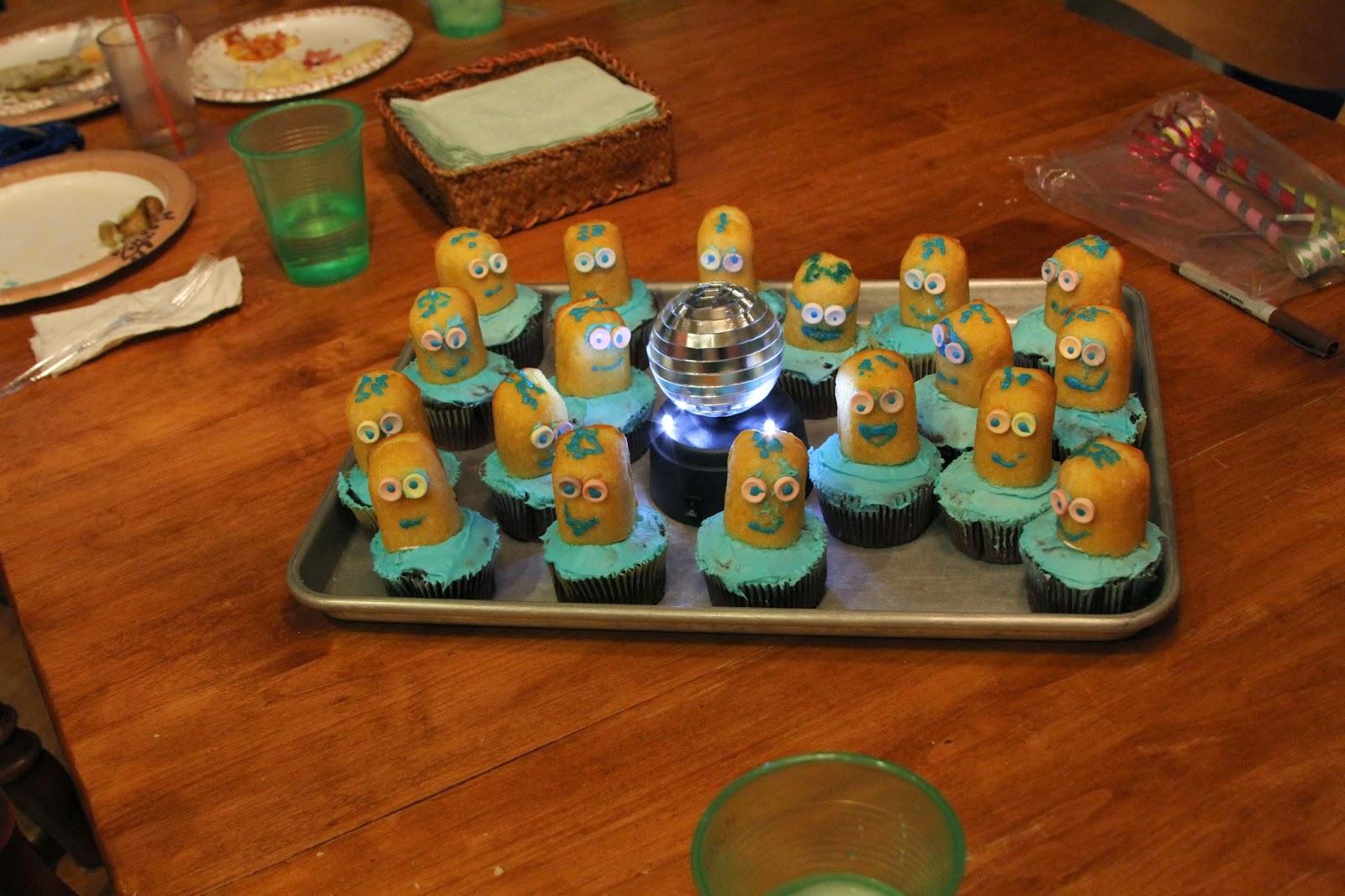 Despicable me Cupcake, Minion Cupcake