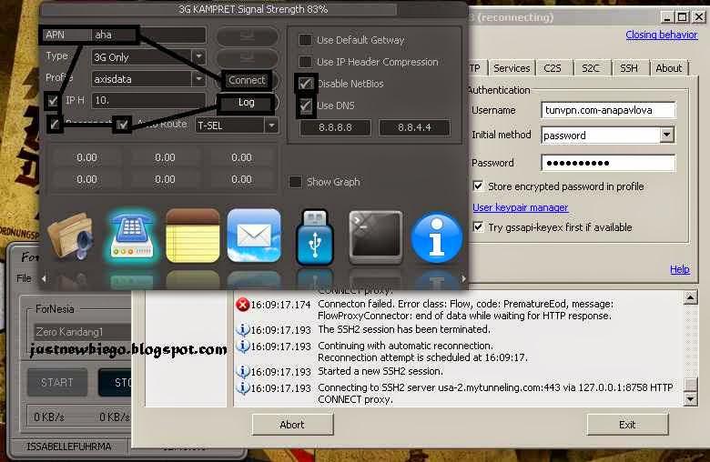 Injek Telkomsel Fornesia  3.7 update terbaru