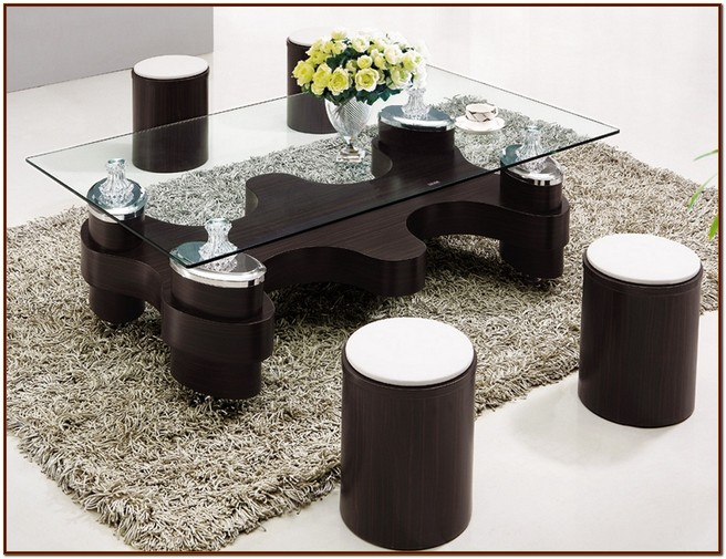 Coffee Table With Stools For Your Home For Coffee Lovers