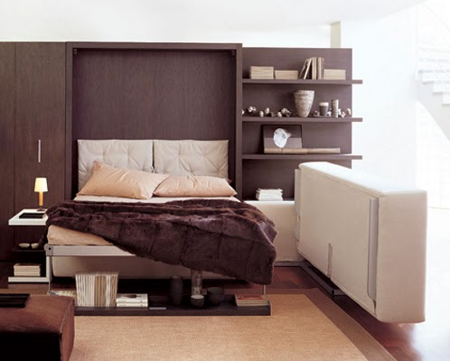 Marzua atoll 202 mueble convertible en cama for Mueble 3 camas
