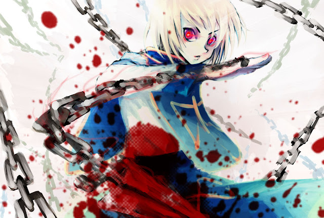 Hunter X 2011 Kurapika Chain Red Eye Anime HD Wallpaper Desktop Background