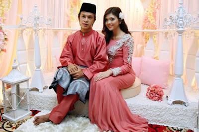 Gambar Zahiril Adzim dan Shera Aiyob Majlis Pertunangan