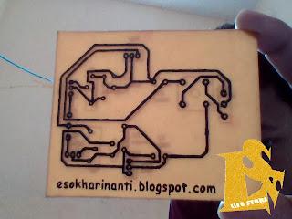 Hasil Pembuatan PCB