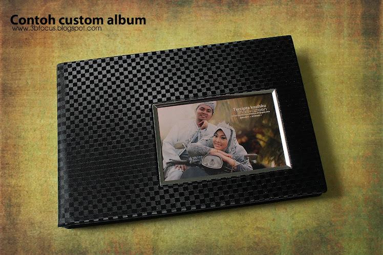 contoh custom album 8x12
