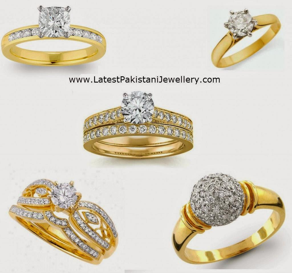 new wedding rings latest pakistani jewellery
